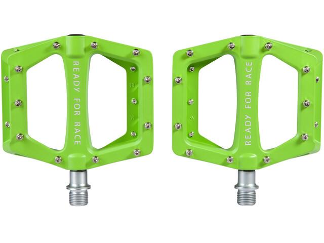 Cube RFR Flat Race Pedale green
